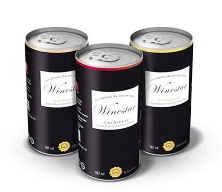 Tentation Design – Cannettes de vin Winestar