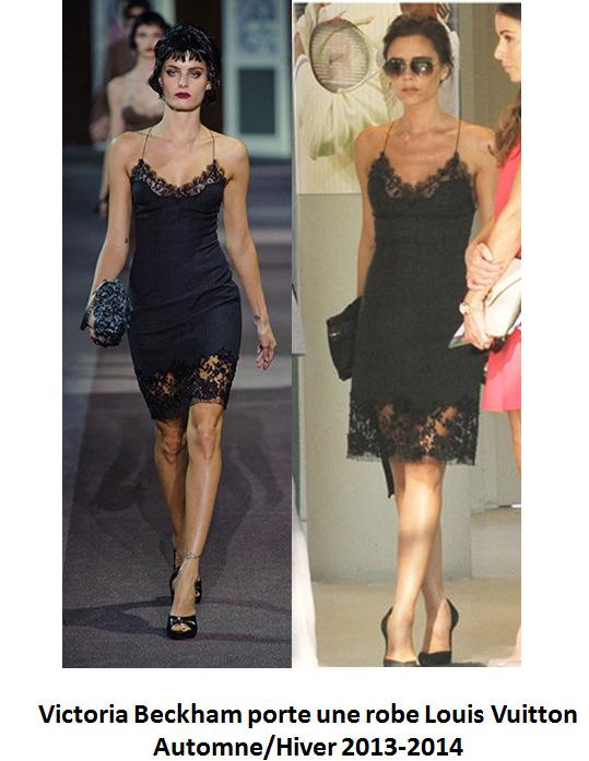 Catwalk vs réalité – Victoria Beckham