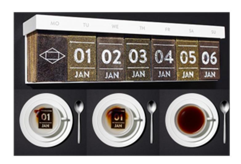 Tentation design – Tea Calendar de Hälssen & Lyon