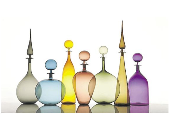 Tentation Design – Carafes en verre Joe Cariati