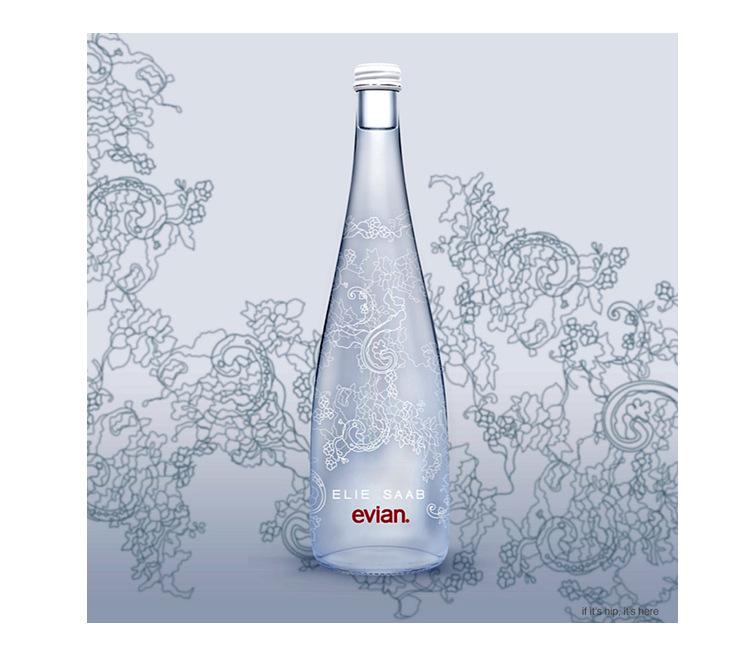 Tentation Design – Evian x Elie Saab