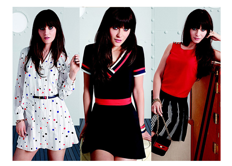 Tentation Mode – Tommy Hilfiger x Zooey Deschanel