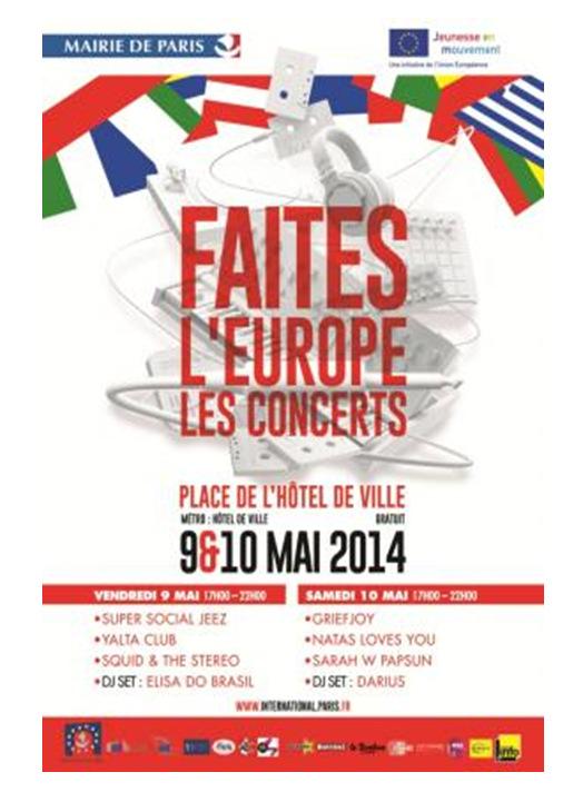 Guide du week-end – 10 & 11 Mai 2014