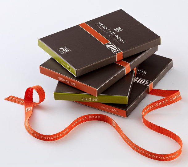 Tentation Design – Chocolats Henri Le Roux