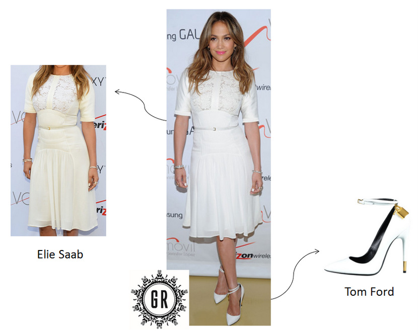 Je veux le même look que Jennifer Lopez