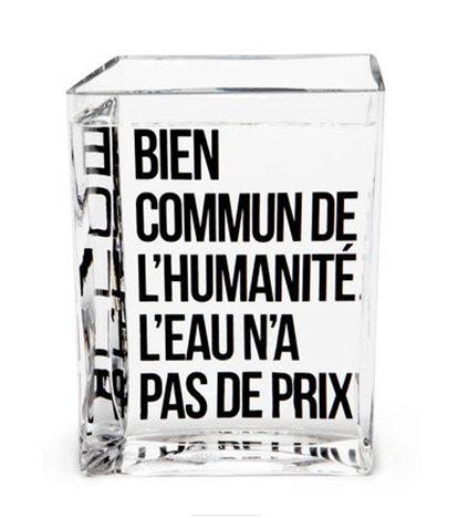 Tentation Design – Carafe « La Lame d'Eau » de Philippe Starck