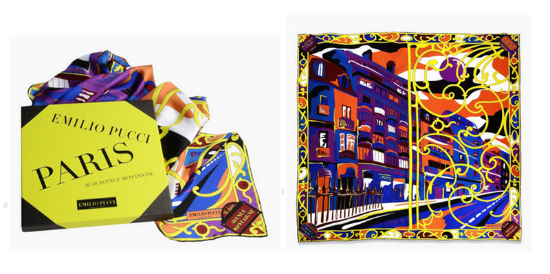 Tentation Mode – Foulards Cities of the World de Pucci