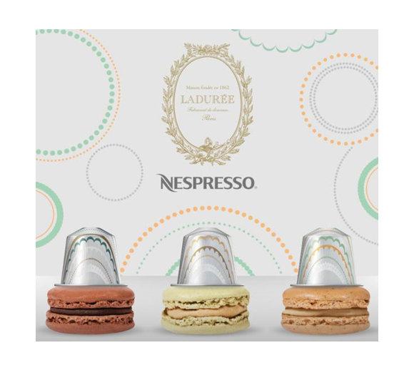 Tentation Gourmande – Ladurée x Nespresso