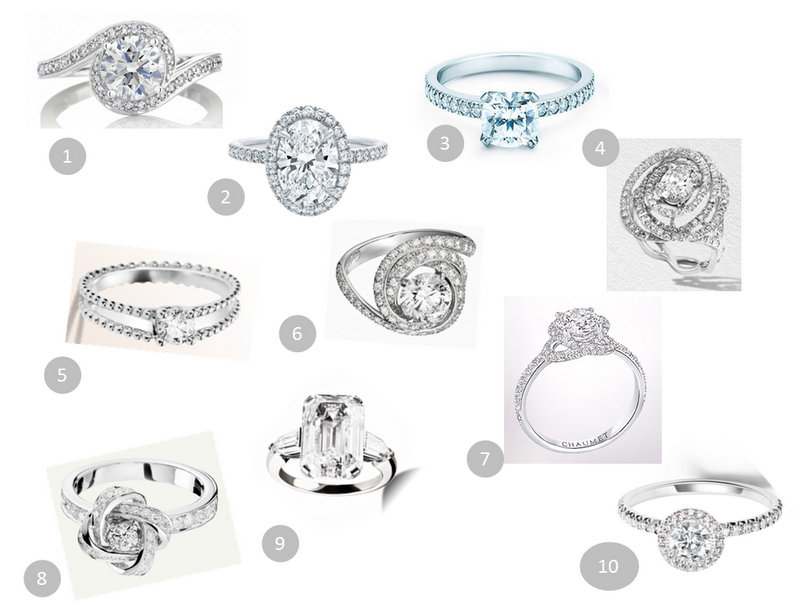 princess cut engagement rings les 10 plus belles bagues de fiancailles. Black Bedroom Furniture Sets. Home Design Ideas