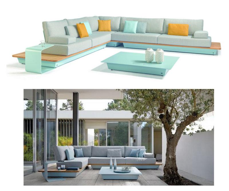 Tentation Design – Salon d'intérieur/extérieur AIR de Manutti