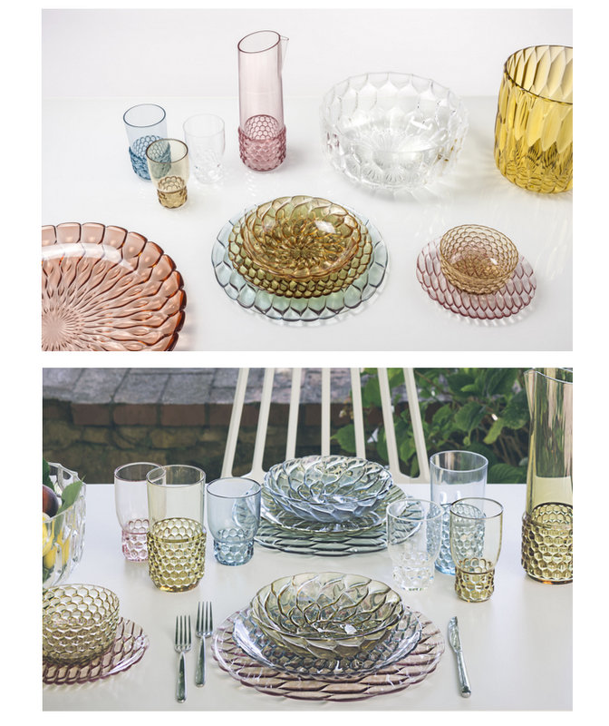 Tentation Design – Collection art de la table Jellies Family de Kartell
