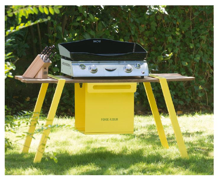 Tentation Design – Plancha Innova 650 de Forge Adour