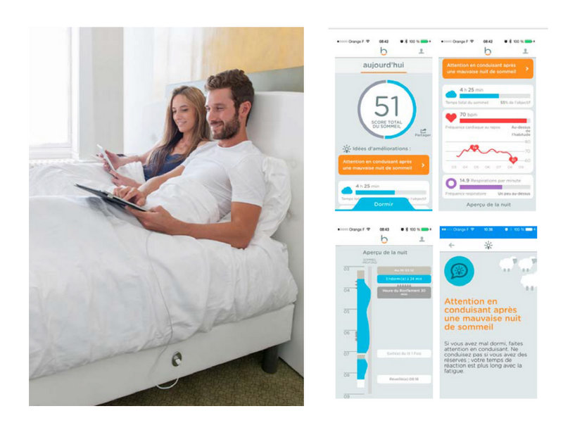 Tentation High-Tech – Morphe@, le premier matelas intelligent