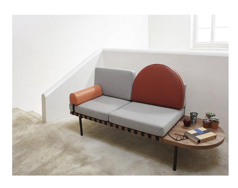 Tentation Design – Banquette Grid du Studio Pool pour Petite Friture