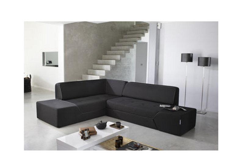 Tentation Design – Canapé d'angle Midnight de Ora Ito pour Dunlopillo