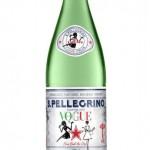 Tentation Gourmande – Bouteille d'eau pétillante San Pellegrino x Vogue