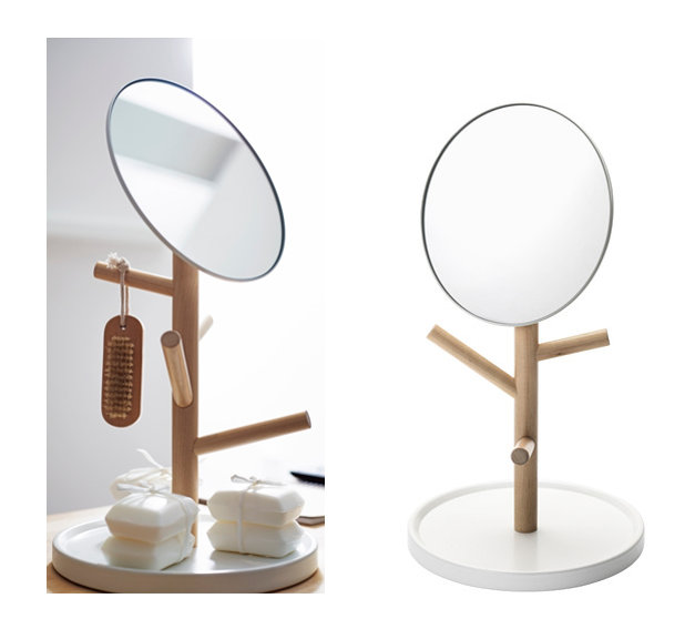Tentation design miroir de table ikea blooming trend - Miroir centre de table ...