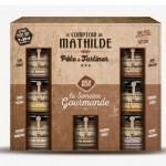 Tentation Gourmande – Coffret semainier pâte à tartiner par Le Comptoir de Mathilde