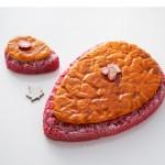 Tentation Gourmande – Galette des Rois Amande Fruits Rouge de Julien Alvarez