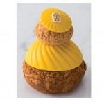 Tentation Gourmande – Religieuse Citron-Praliné de la Maison Angelina