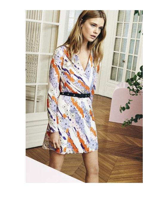 Tentation mode robe imprim e carven pour la redoute blooming trend par gl - L adresse de la redoute ...