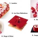 Les 10 Plus Belles Créations Pâtissières pour la Saint-Valentin 2016
