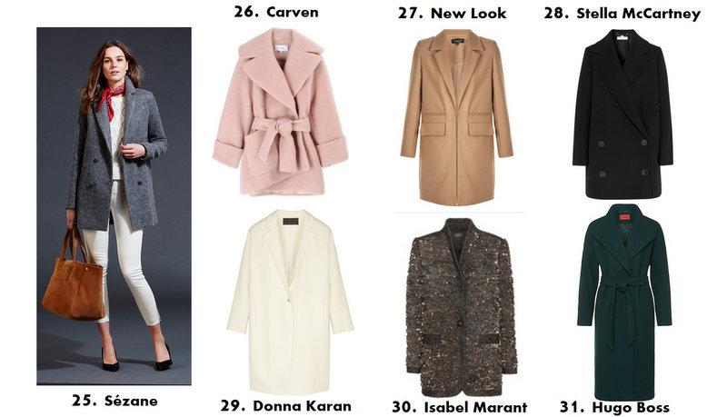 d66bb7113d Les 40 plus beaux manteaux de l'hiver 2016 – Blooming Trend par ...