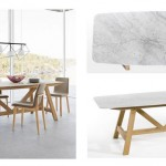 Tentation Design – Table plateau marbre Buondi par AM.PM.