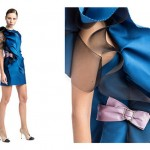 Tentation Mode – Robe bleue à volants de Lanvin