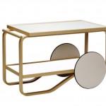 Tentation Design – Table roulante « Tea Trolley » Artek