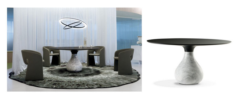 roche et bobois table roche bobois new collection a selection by flodeaucom with roche et. Black Bedroom Furniture Sets. Home Design Ideas