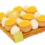 Tentation Gourmande – Tarte Mister Chou citron de Fauchon
