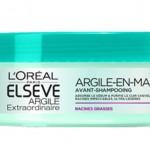 Tentation Beauté – Masque Argile Avant Shampooing par Elsève de L'Oréal