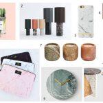 Tendance Matériau - Marble Power : sélection de 10 objets à shopper