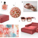 [Sélection d'objets] - Living Coral, élue couleur de l'année 2019 par Pantone